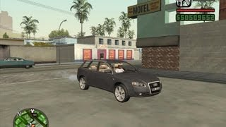 getlinkyoutube.com-GTA San Andreas Audi A4 Avant