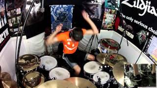getlinkyoutube.com-Wrecking Ball - Drum Cover - Miley Cyrus
