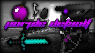 getlinkyoutube.com-Minecraft PvP Texture Pack - PURPLE DEFAULT EDIT - Low Fire, Purple Apple, Smooth