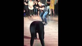 getlinkyoutube.com-Fernand Sosa and Alien Ramirez dancing social in Japan 2014