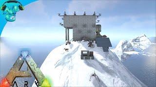 getlinkyoutube.com-Base on the Peak - Raid on the Iceberg! ARK Survival Evolved - PvP Season 2 E16