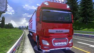 getlinkyoutube.com-Euro Truck Simulator 2 - DAF EURO 6 TUNING MOD + ENGINE SOUND