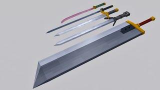 Swords pack| Cinema 4D| Free