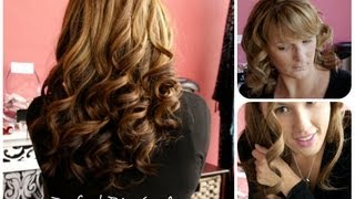 getlinkyoutube.com-Curls without the GHD! Remington Perfect Big Curls