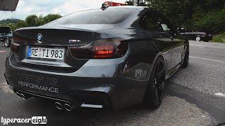getlinkyoutube.com-BMW M4 Coupé by VERSUS Performance! Revs and Acceleration!