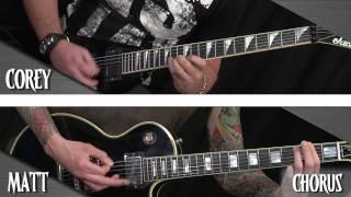 """getlinkyoutube.com-Trivium: 'In Waves' Video Lesson - """"Forsake Not the Dream"""""""