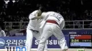 getlinkyoutube.com-JUDO 2002 Asian Games: Masato Uchishiba 内柴 正人 (JPN) - Bazarbek Donbay (KAZ)