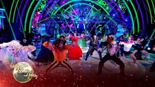 getlinkyoutube.com-Halloween Group Dance to 'You Spin Me Round' by Dead or Alive - Strictly 2016: Halloween Week