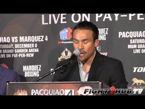 Manny Pacquiao vs. Juan Manuel Marquez 4: press conference highlights
