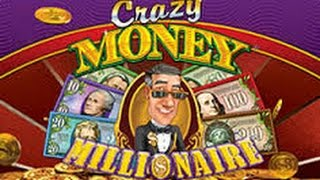 getlinkyoutube.com-Crazy Money Millionaire - MAX BET Live Play and Bonus Win