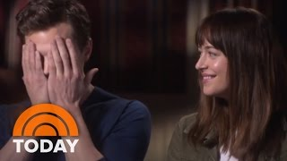 Fifty Shades' Dakota Johnson Discusses Sex Scenes  | TODAY