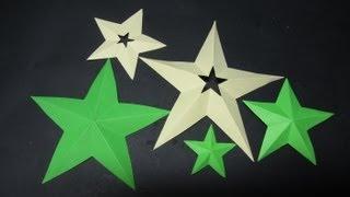 getlinkyoutube.com-Como cortar estrellas perfectas de 5 puntas.