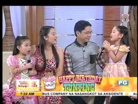 Daughters serenade Anthony Taberna with 'Let it Go'