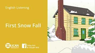 getlinkyoutube.com-Learn English Listening   Beginner - Lesson 1. First Snow Fall