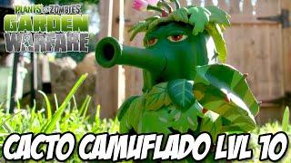 getlinkyoutube.com-Plants vs Zombies Garden Warfare PS4 - Cacto LVL 10 Cacto Camuflado,ferraram com ele mas ainda é bom