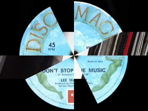 LEE MARROW - DON'T STOP THE MUSIC (VOCAL VERSION) (℗1987)