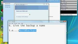 getlinkyoutube.com-How to backup files automatically with Synctoy