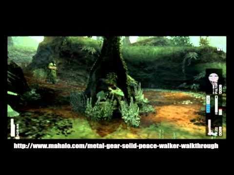Metal Gear Solid: Peace Walker Walkthrough - Level 3 - Pursue Amanda