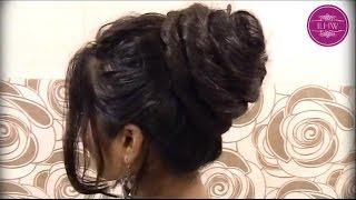 getlinkyoutube.com-Sensual Bun Styling by Almost Floor Length Rapunzel