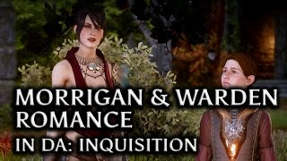 Dragon Age: Inquisition - Morrigan & the Warden Romance in DAI (Human Baby, all scenes)