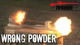 getlinkyoutube.com-Smokeless Powder in a Muzzleloader?