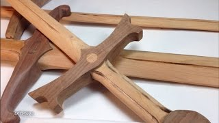 getlinkyoutube.com-OF COURSE IT IS MADE OF WOOD! ~ Artismia How to make a wooden sword.