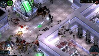 getlinkyoutube.com-Alien Shooter 2: Conscription - Gameplay - Level 9