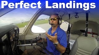 getlinkyoutube.com-Ground School: How to Perfect your Landing Flare | High Speed Taxiing