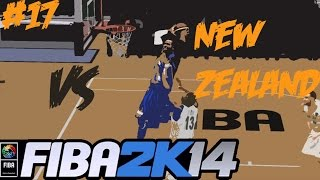 getlinkyoutube.com-FIBA 2K14 Gilas Pilipinas vs The World #17 - Vs New Zealand