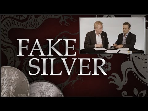 Fake Silver Flooding Market - Mike Maloney & James Anderson