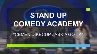 getlinkyoutube.com-Cemen Sujud Usai Dikecup Zaskia Gotik (Stand Up Comedy Academy Grand Final)