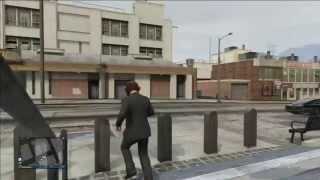 getlinkyoutube.com-Glitch Entrer dans le commissariat de GTA 5