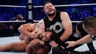 getlinkyoutube.com-Kevin Owens vs. Rusev: SmackDown, July 23, 2015