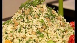 أرز بالحمص - مطبخ منال العالم