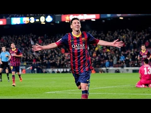 Lionel Messi  Top 10 Goals of Season 2012-2013
