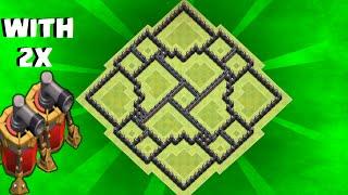 getlinkyoutube.com-Clash of Clans - th9 farming base / Dark elixir protector /with 2 air sweeper / speed build
