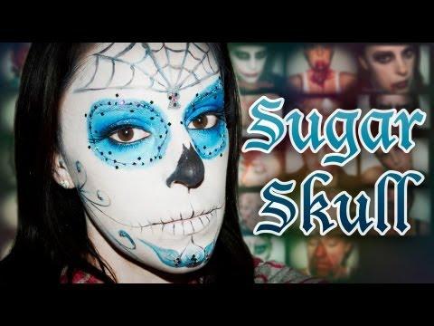 Maquillaje Calavera Méxicana Halloween | Silvia Quiros
