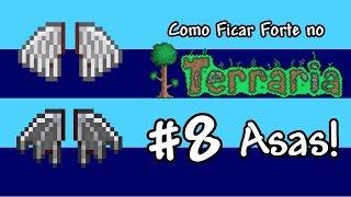 getlinkyoutube.com-Como Ficar Forte no terraria #8 - Asas!!!