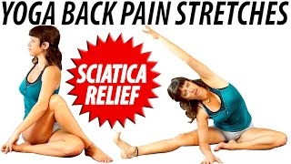getlinkyoutube.com-How to Yoga Back Pain Relief Stretches and Exercises, Beginners Low Back Pain & Sciatica
