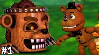 getlinkyoutube.com-Freddy Plays: FNAF World #1 || CHIP OFF THE OLD BLOCK