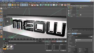 getlinkyoutube.com-Cinema 4D & Photoshop SPEED ART // Lightstudio Setup & Chrome text