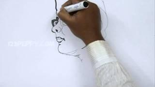 getlinkyoutube.com-How to Draw Subash Chandra Bose