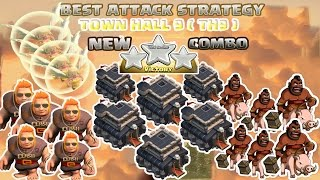 getlinkyoutube.com-Coc Th9 Attack Strategy. Town hall 9 New Combo 3 stars Clash of clans 2016