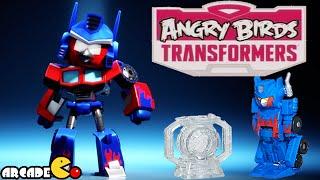 getlinkyoutube.com-Angry Birds Transformers: Telepods Optimus Prime Auto Birds Gameplay Part 47