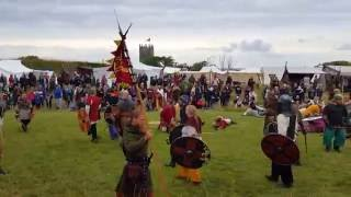 getlinkyoutube.com-Recreation Battle of Foteviken (July 2016)