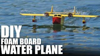 DIY Foam Board Water Plane (The FT Sea Duck) | Flite Test