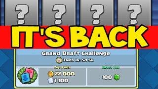 getlinkyoutube.com-THE BEST CLASH ROYALE CHALLENGE IS BACK ! Classic / GRAND Draft Challenge