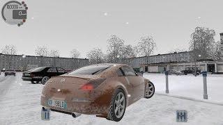getlinkyoutube.com-City Car Driving 1.5.2 Nissan 350Z 2003 SNOW [G27]