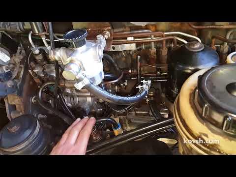 Временное решение при попадании антифриза в топливо на Renault Premium 370 dCi11