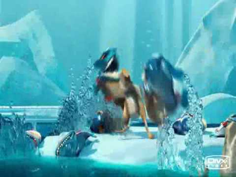 Scrat dans l'age de glace 2 et les piranhas -eo1OZqKoIFw